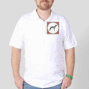 RDORN-whippet-christmas Golf Shirt