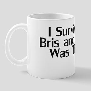 ISurvivedMyBrisBib Mug