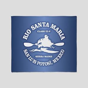 Rio Santa Maria Throw Blanket