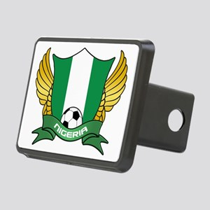nigeria-soccer Rectangular Hitch Cover