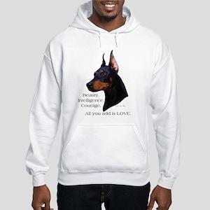 Dobe-Add Love Hooded Sweatshirt