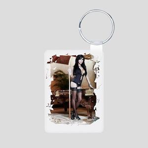 05yujyu Aluminum Photo Keychain