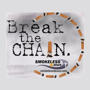 3-breakthechain Throw Blanket