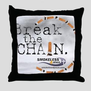 3-breakthechain Throw Pillow