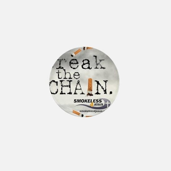 3-breakthechain Mini Button