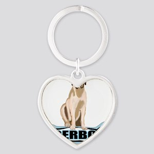 bone BOERBOEL Heart Keychain