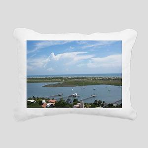 LightHouseView14X10Frame Rectangular Canvas Pillow