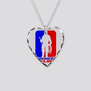 Welder Necklace Heart Charm