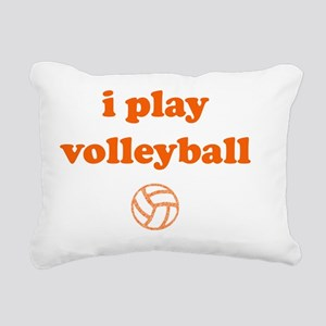 iplayvolleyball Rectangular Canvas Pillow