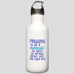 Reasons to be a Mermai Stainless Water Bottle 1.0L
