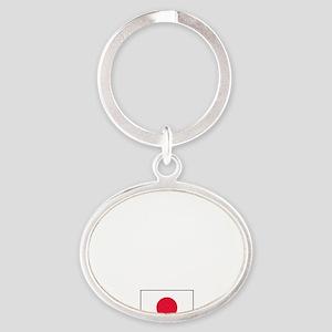 JapanROY Oval Keychain