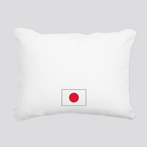 JapanROY Rectangular Canvas Pillow