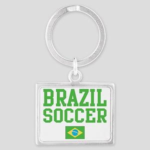 BrazilYELLOW Landscape Keychain
