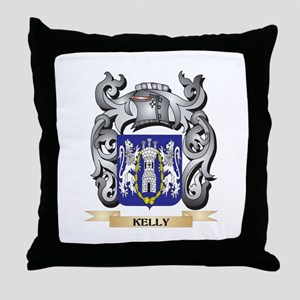 Kelso Coat of Arms - Family Crest Throw Pillow