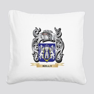 Kelso Coat of Arms - Family C Square Canvas Pillow
