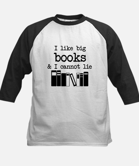 I like Big Books Baseball Jersey