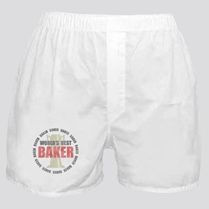 World's Best Baker Boxer Shorts