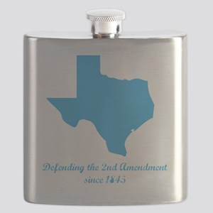 Texas 2nd Amendment Flask