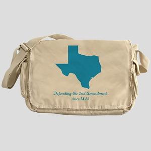 Texas 2nd Amendment Messenger Bag