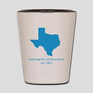 Texas 2nd Amendment Shot Glass