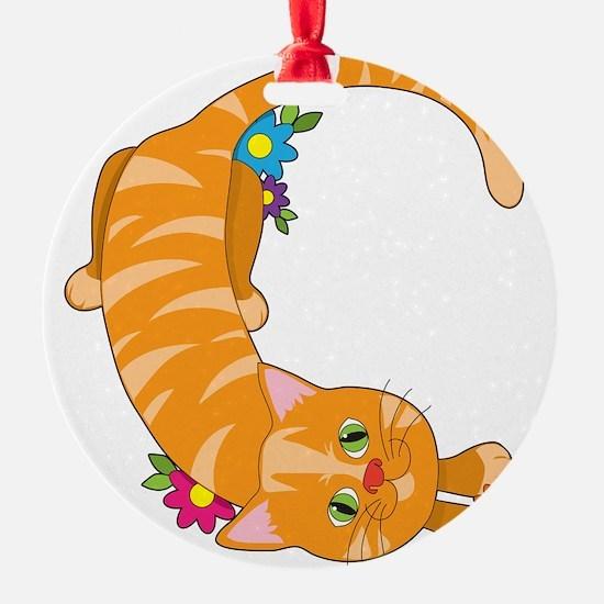alphabet animal C Ornament