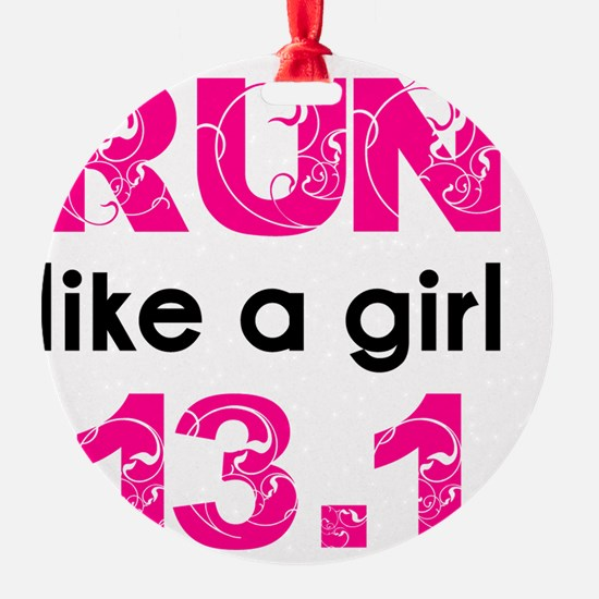 running_swirl_sticker13 Ornament