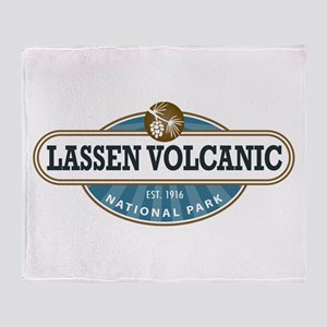 Lassen Volcanic National Park Throw Blanket