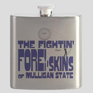 2-mull foreskins OF MUUL5 Flask