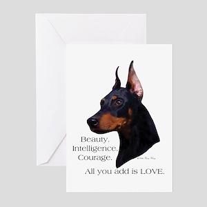 Dobe-Add Love Greeting Cards (Pk of 10)