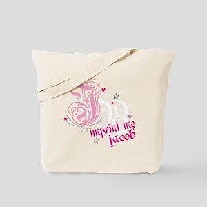 jb-PINK-WHITE Tote Bag