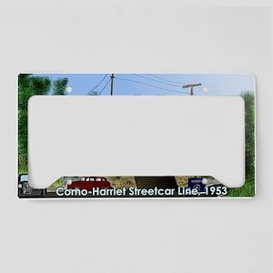 36thAndRichfield1953Postcard License Plate Holder