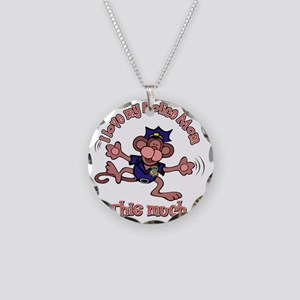 2-police_mom Necklace Circle Charm