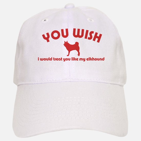 Norwegian Elkhound Baseball Baseball Cap