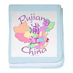 Pujiang China baby blanket