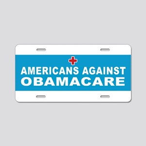 OBAMA GRADUATE Aluminum License Plate
