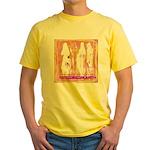 Strangers, Elders & Aliens Yellow T-Shirt