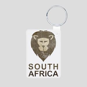 southafrica1 Aluminum Photo Keychain