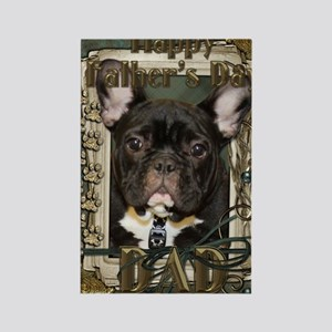 French_Quarters_French_Bulldog_DA Rectangle Magnet