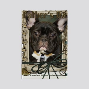 French_Quarters_French_Bulldog_Te Rectangle Magnet