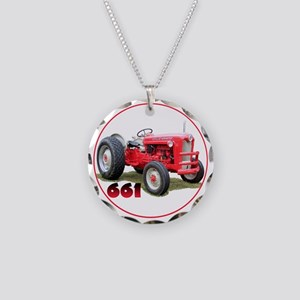 Ford661-C8trans Necklace Circle Charm