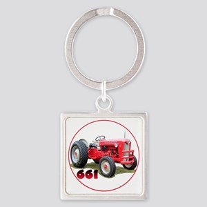 Ford661-C8trans Square Keychain