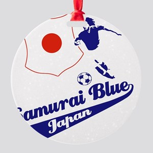japan soccer Round Ornament