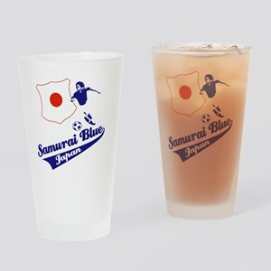 japan soccer Drinking Glass