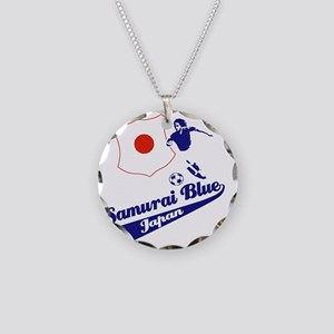 japan soccer Necklace Circle Charm