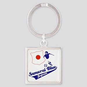 japan soccer Square Keychain