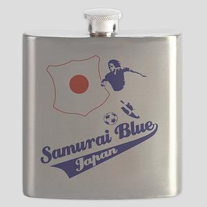 japan soccer Flask