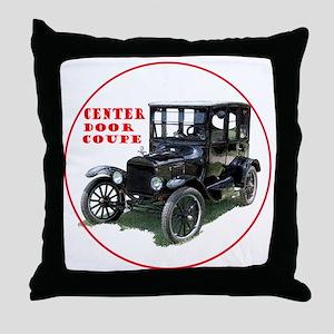 T-centerDoor-C8trans Throw Pillow