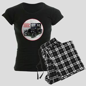 T-centerDoor-C8trans Women's Dark Pajamas