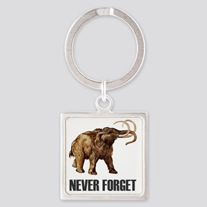 NF Woolly Mammoth-1 Square Keychain