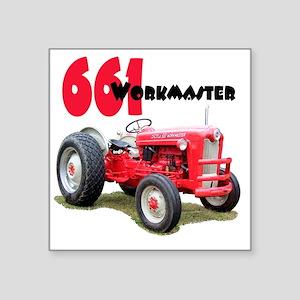 "Ford661-10 Square Sticker 3"" x 3"""